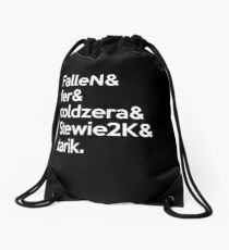 mibr 'Team' White Drawstring Bag