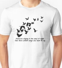 Blackbird, Beatles - Lyrics Unisex T-Shirt