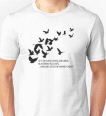 Blackbird, Alter Bridge - Lyrics Unisex T-Shirt