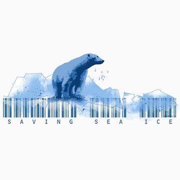 Polar Bear - Saving Sea Ice by danielgre