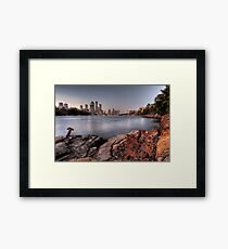 Kangaroo Point • Brisbane Framed Print