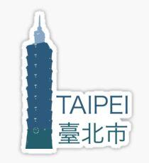 Taipei, Taiwan – Taipei 101 Skyline Sticker