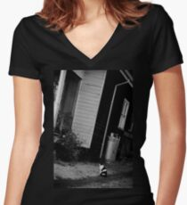 Country Kitsch Women's Fitted V-Neck T-Shirt
