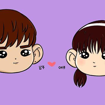 Shownu / Kihyun | Namjoo + Yeojoo ver.2 de cyberlatte
