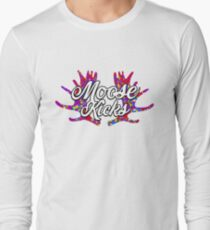 Moose Kicks Logo Long Sleeve T-Shirt
