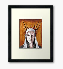 Wood Elf King Framed Print
