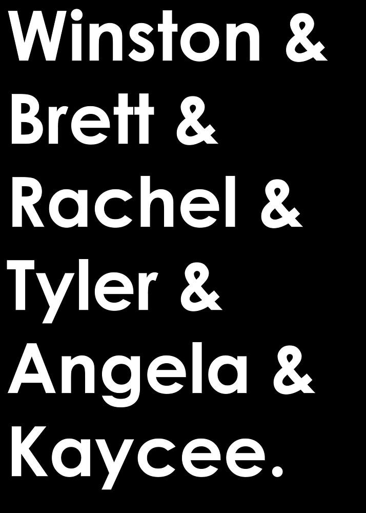 RACHEL BB20 - Level 6 BB20 Winston Brett Rachel Tyler Angela