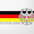Deutschland (Germany), Flag and Eagle by edsimoneit
