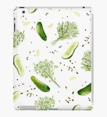 Pickles + Peppercorns  iPad Case/Skin