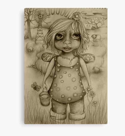 Binda drawing Canvas Print