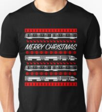 Christmas Train Unisex T-Shirt