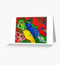 Goddesses Greeting Card