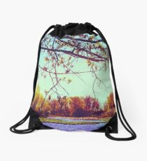 Branches Overhead Drawstring Bag