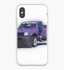 Vinilo o funda para iPhone Coche púrpura