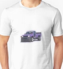 Purple car Unisex T-Shirt