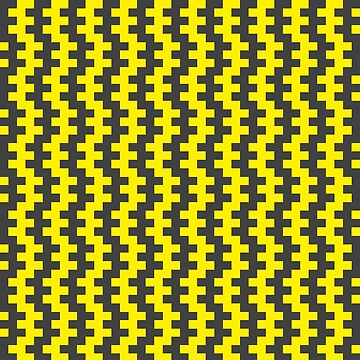Stripe Dancer Yellow by jumpercat