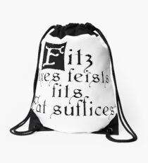 The Fitz and The Fool (Fool) Drawstring Bag