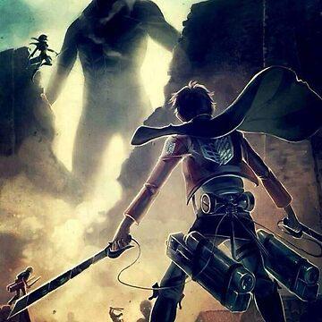 Attack On Titan Eren Jäger by MelenchonJTM