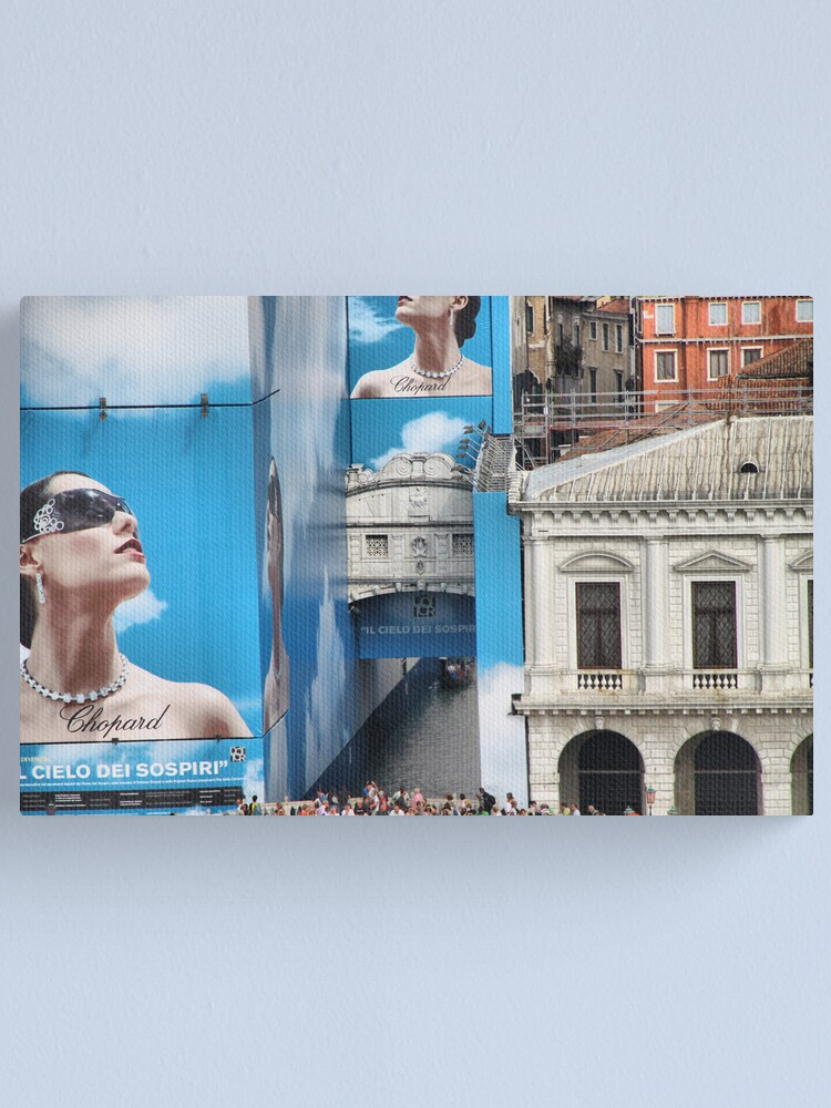 Alternate view of Whatever happened to The Bridge of Sighs? Canvas Print