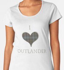 Ich liebe Outlander Frauen Premium T-Shirts