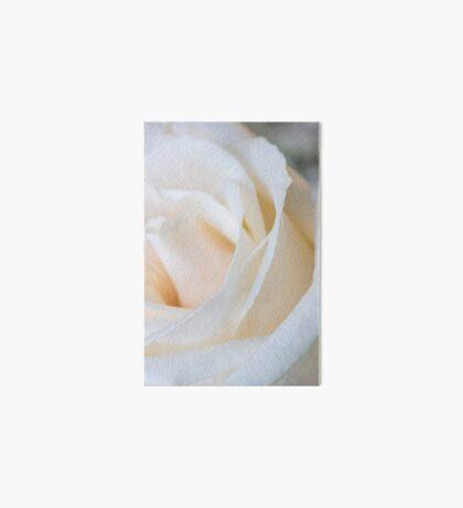 White Rose 2 Art Board