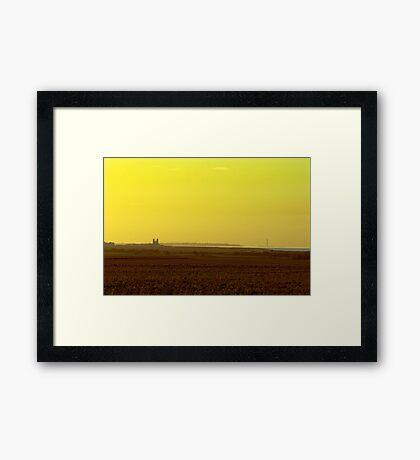 Dusk Framed Print