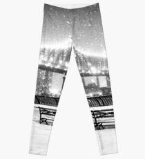 Legging New York City - Snowy Night