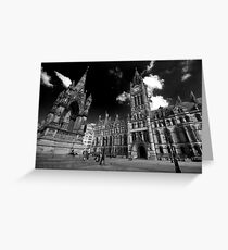 Manchester Town Hall Greeting Card