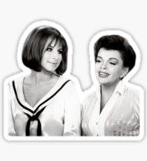 Barbra und Judy Sticker