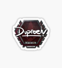 Dupreeh Faceit London 2018 Sticker