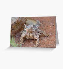 Thorny devil Greeting Card