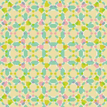 Pastel Bubblegum Kaleidoscope by tobiasfonseca
