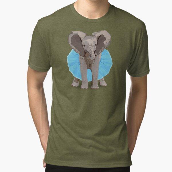 The Fanciest Elephant Tri-blend T-Shirt
