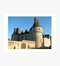 Chateau, France Art Print
