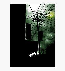 Dangerous Skies Photographic Print