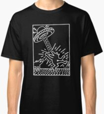 Keith Haring, UFO, Aliens, Abduction, Pop Art Classic T-Shirt