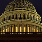 US Capitol Dome by Andreas Mueller