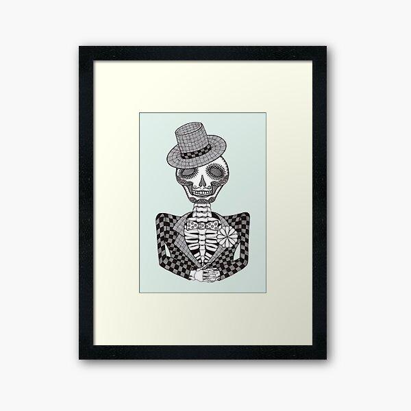 The Groom Framed Art Print