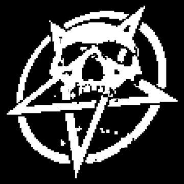 ZX Spectrum Pentagram B&W by Red-Ocelot86