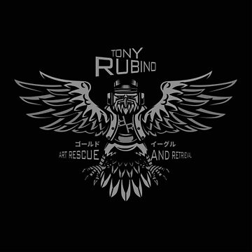 Rubino Gold Propaganda Eagle by RubinoCreative