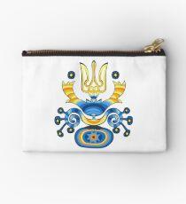 T-shirt drapeau ukrainien Emblème chemise manteau des bras ukrainien Pochette