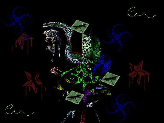 ABSTRACT FRACTAL by Spiritinme