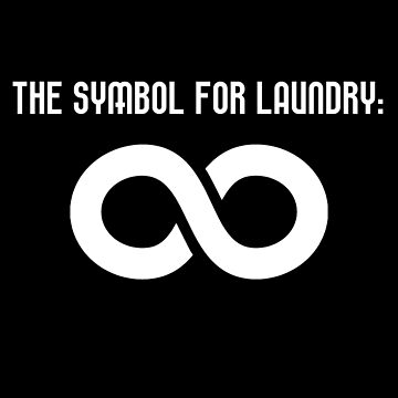 The Symbol For Laundry T-Shirt by drakouv