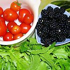 Today's Pickings from the Garden by lezvee