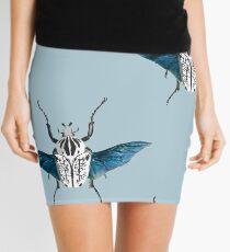 Goliath Beetle in flight Mini Skirt