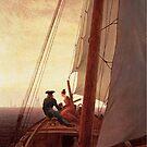 On board a Sailing Ship..1818..Caspar Friedrich by edsimoneit