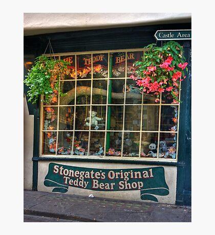 The Teddy Bear Shop Photographic Print
