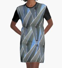 glass and steel Graphic T-Shirt Dress