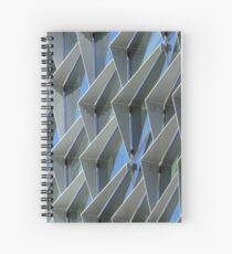 glass and steel Spiral Notebook
