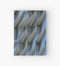 glass and steel Hardcover Journal
